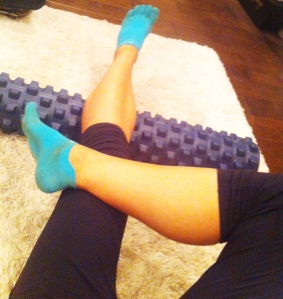 Tear-inducing foam rolling