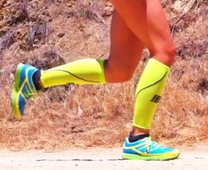 Newton Energy NR's, Injinji socks, CEP sleeves, winning combo!